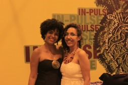 Equipe Bamako: Fabiana Maria e a convidada Pollyane Carlos